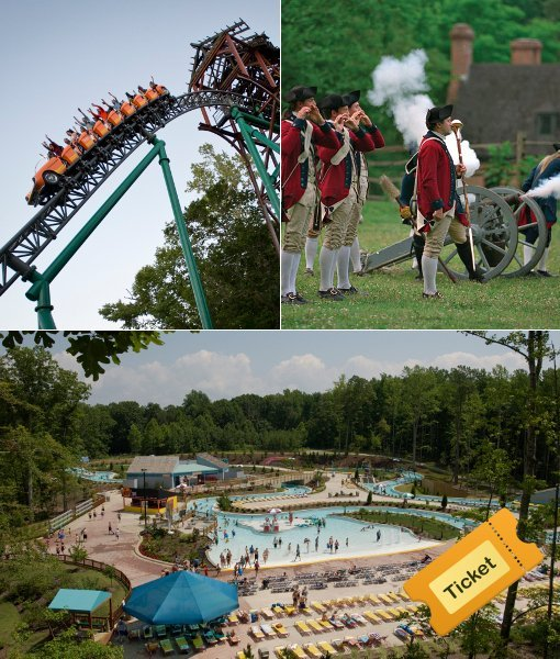 Busch Gardens Summer Bounce Adult Busch Gardens Colonial Williamsburg Water Country Usa