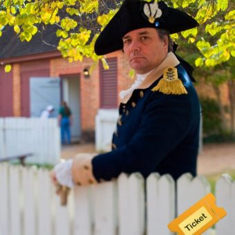 Colonial Williamsburg 3 Day Ticket