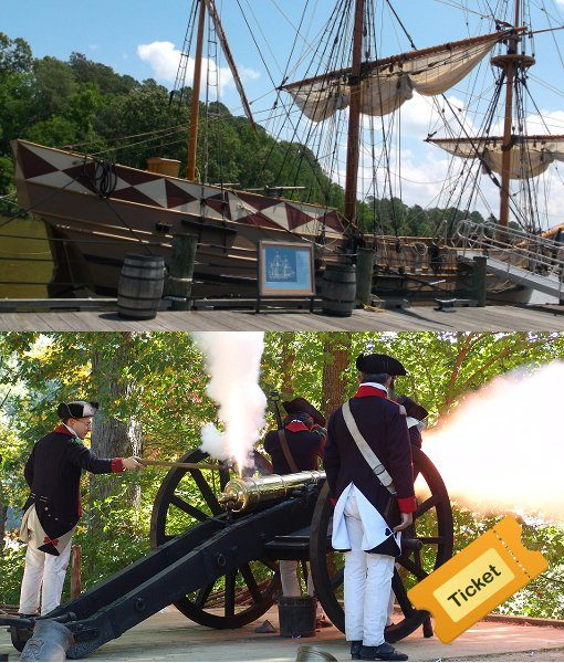 Jamestown Yorktown Combo Ticket