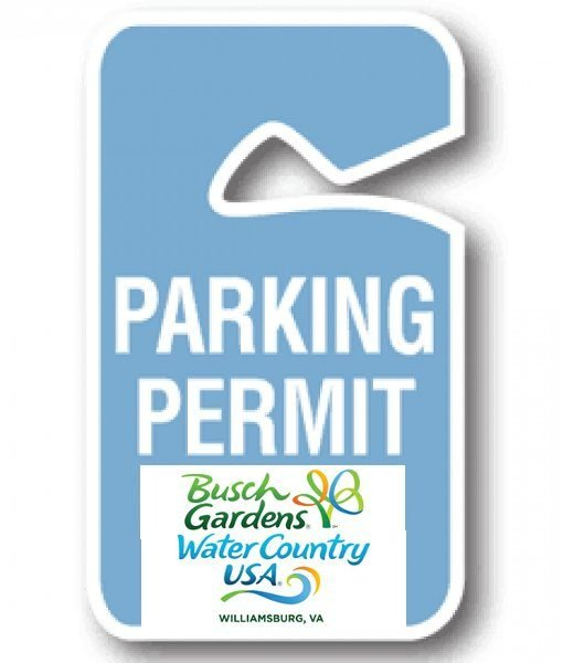 7 Day Parking Pass to Busch Gardens & Water Country USA